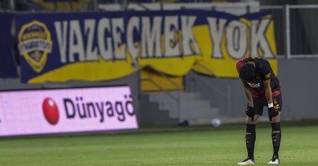 Galatasaray'ın 8 maçlık serisi sona erdi