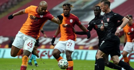 Galatasaray ile Sivasspor berabere kaldı