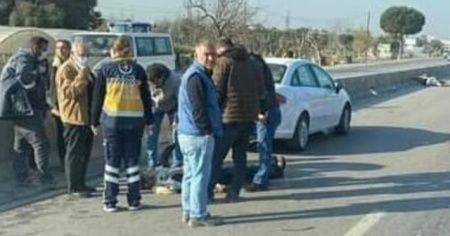 İki motosiklet çarpıştı: 1 ölü, 1 yaralı