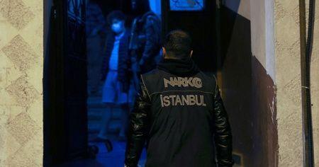 İstanbul merkezli 5 ilde uyuşturucu operasyonu