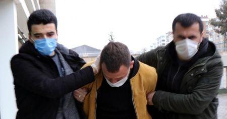 Kızının yanında eski eşini döven şahıs tutuklandı