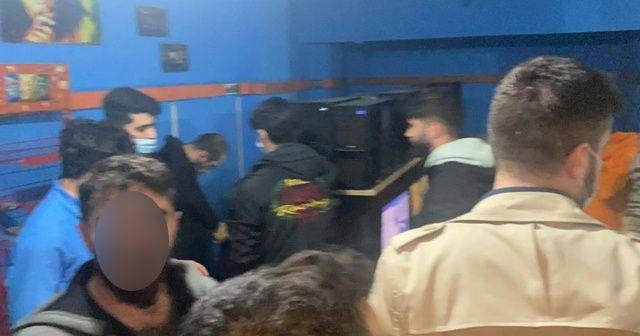 """Counter-Strike"" maçına polis baskını"