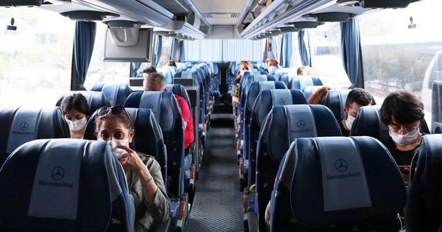 2020'de 42 milyon 847 bin kişi seyahate çıktı
