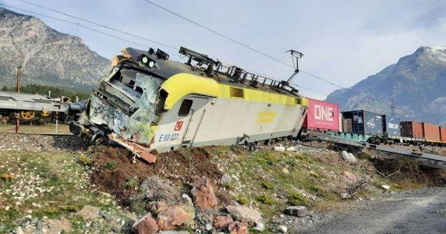 Adana'da Pozantı'da tren kazası: 2 yaralı