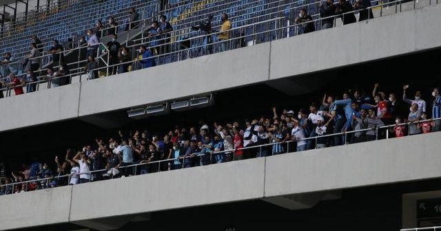 Adana Demirspor maçındaki seyirci sosyal medyada gündem oldu