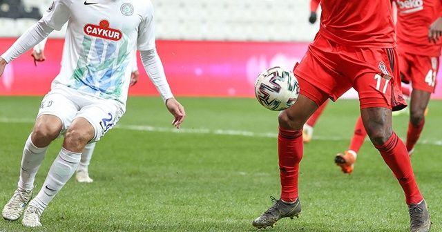 Beşiktaş ile Çaykur Rizespor 40. randevuda