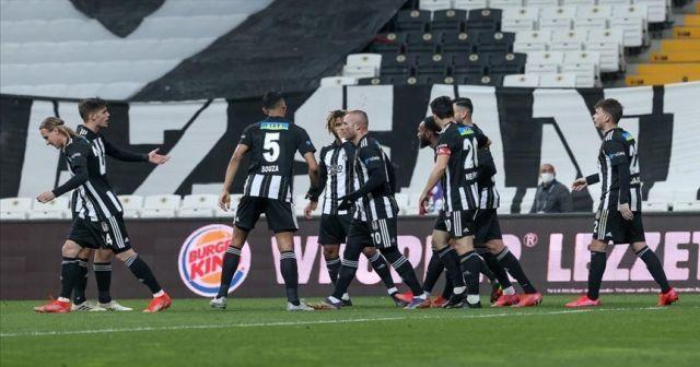 Beşiktaş, Kayserispor'u sahasında devirdi