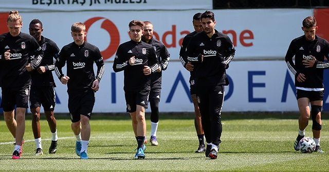 Beşiktaş'ta MKE Ankaragücü maçı hazırlıkları başladı