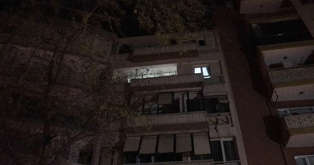 Binanın birinci katından düşen kişi ağır yaralandı