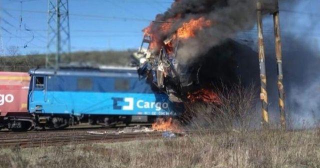 Çekya'da tren kazası: 1 ölü