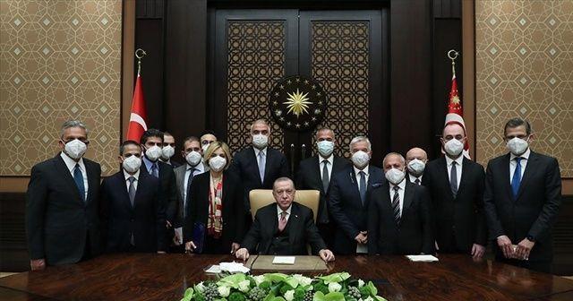 Cumhurbaşkanı Erdoğan'dan 'kısa çalışma ödeneği' müjdesi