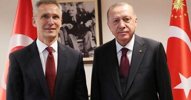 Cumhurbaşkanı Erdoğan, Jens Stoltenberg ile bir telefon görüşmesi gerçekleştirdi