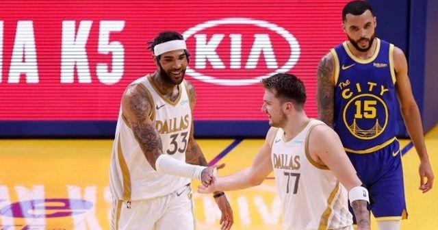 Dallas'tan Golden State Warriors'a 30 sayı fark