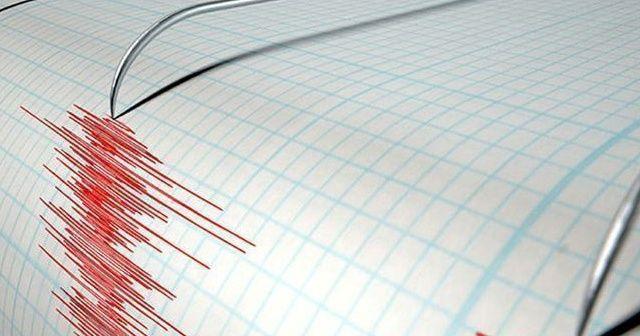 Datça açıklarında 4,1 büyüklüğünde deprem