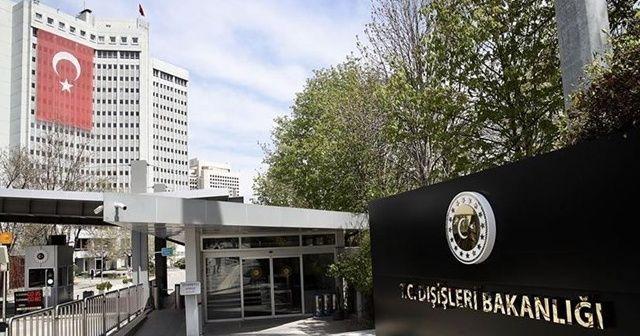 Dışişleri: Ermeni terörünün şehit ettiği arkadaşlarımızı unutmadık