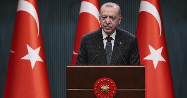 Cumhurbaşkanı Erdoğan: Ramazan ayının ilk iki haftasında kısmi kapanmaya geçiyoruz