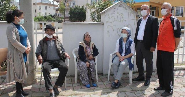 Evleri yanan yaşlı çifte devlet eli uzandı