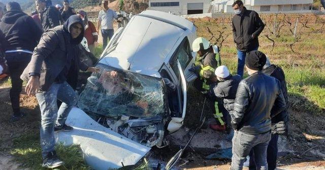 Feci kazada ölen 3 kişi toprağa verildi