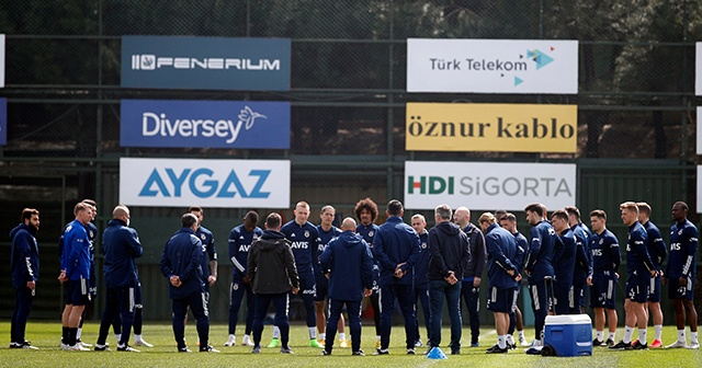 Fenerbahçe'de Yeni Malatyaspor maçı hazırlıkları başladı