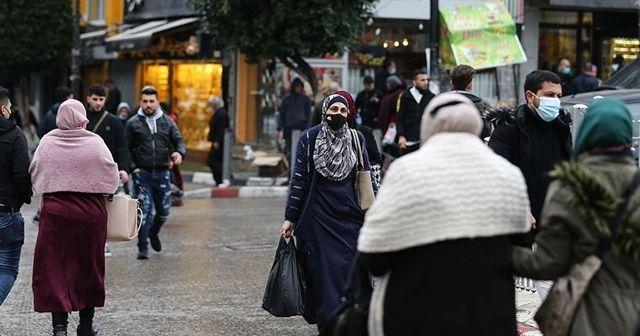 Filistin'de Kovid-19 salgınındaki en yüksek günlük vaka kaydedildi
