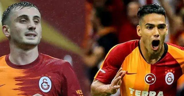 Galatasaray'da Radamel Falcao ve Kerem Aktürkoğlu hastaneye kaldırıldı!