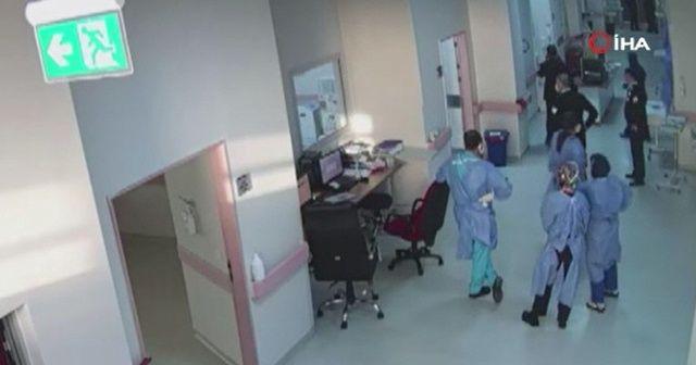 Görevi başındaki doktor saldırıya uğradı