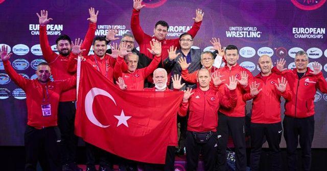 Güreş Milli Takımı, grekoromen stilde Avrupa ikincisi