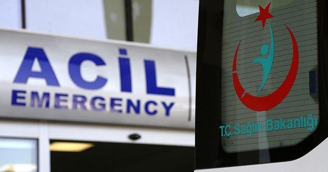 Hastaneden firar ederken camdan atlayan kişi öldü
