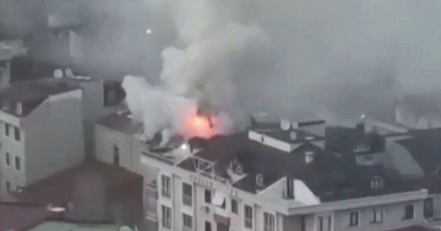 Kadıköy'de iftara dakikalar kala yangın paniği