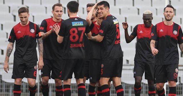 Karagümrük'te 6 futbolcunun daha Kovid-19 testi pozitif çıktı