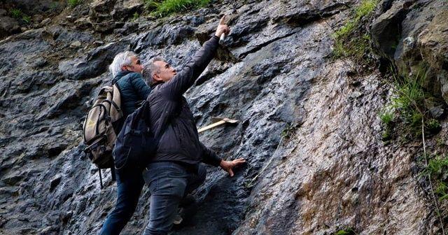 Komando gibi dağlarda gezerek süs taşı arıyorlar
