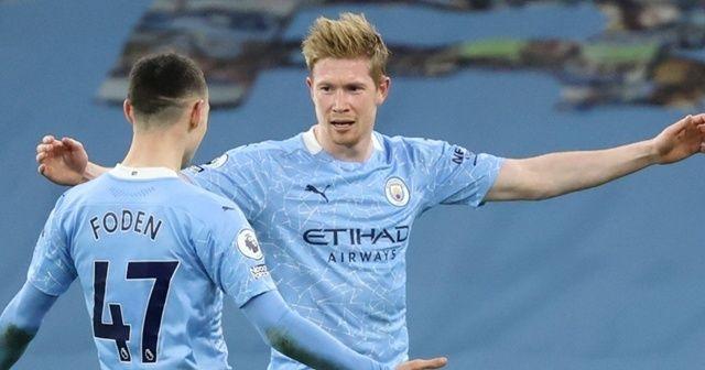 Manchester City, Leicester deplasmanında 2-0 galip geldi