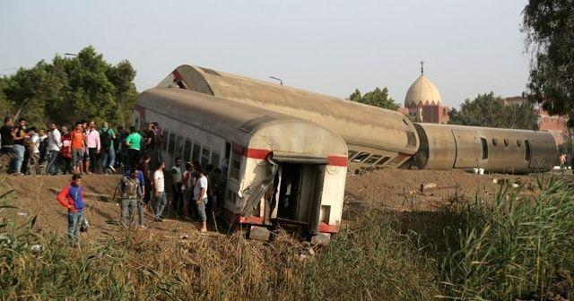 Mısır'daki tren kazasında ölü sayısı 23'e yükseldi