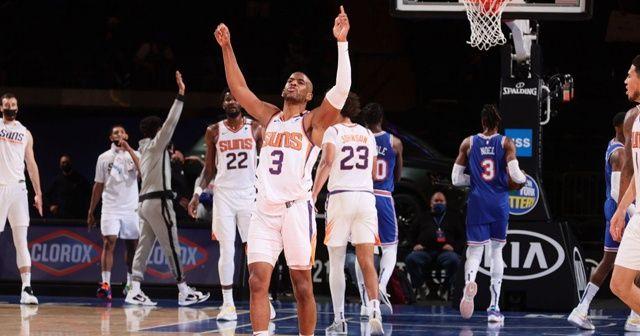 NBA'de 9 maçtır kazanan Knicks'i Suns durdurdu