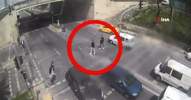 Otogarda 5 kilo patlayıcıyla yakalanan teröristler kamerada