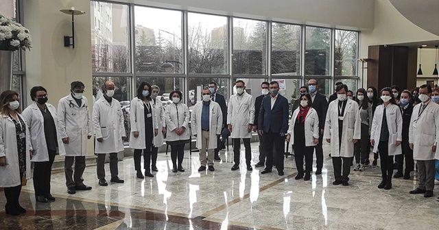 Prof. Dr. Taşçıoğlu ve sağlık çalışanları anıldı