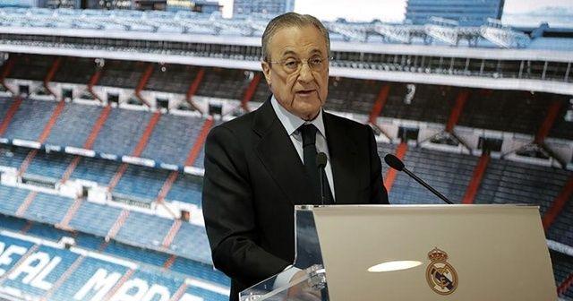 Real Madrid Başkanı Perez'den Türk takımlarıyla ilgili açıklama