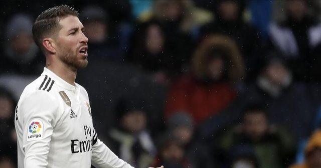 Real Madrid'de Sergio Ramos'un testi pozitif!