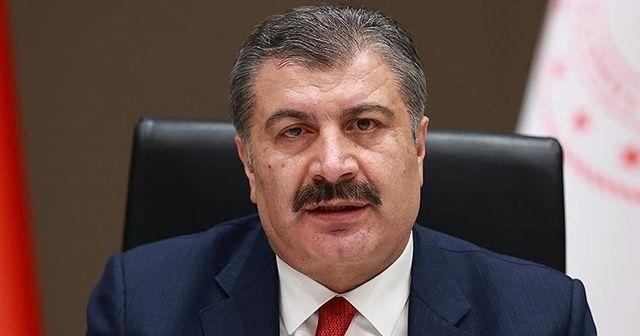 """Sağlık Bakanı Koca'dan """"kısmi kapanmada vakaların azaltılması"""" çağrısı"""