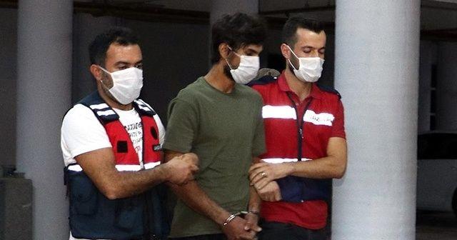 Paramotorla geldiği Amanoslarda yakalanan PKK'lı teröriste dava