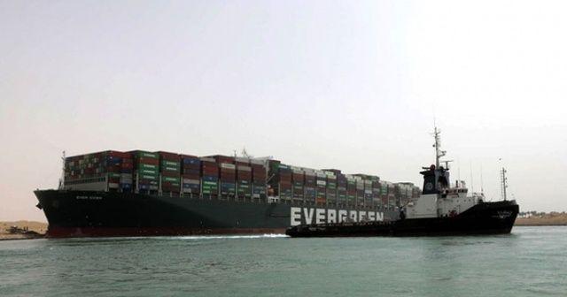 Süveyş'i kapatan gemiden 1 milyar dolar tazminat alınacak