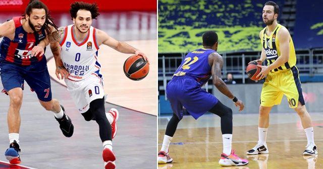 THY Euroleague'in 33. haftasında Türk takımlarından 2'de 1