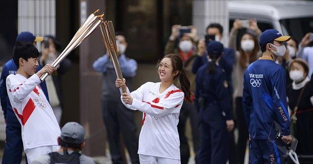 Tokyo Olimpiyatları meşale turunun Osaka ayağına Kovid-19 engeli