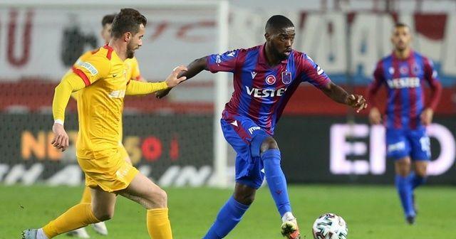 Trabzonspor'un forvetleri, ikinci yarıda beklentinin altında kaldı