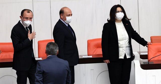 Üç yeni bakan Meclis'te yemin etti