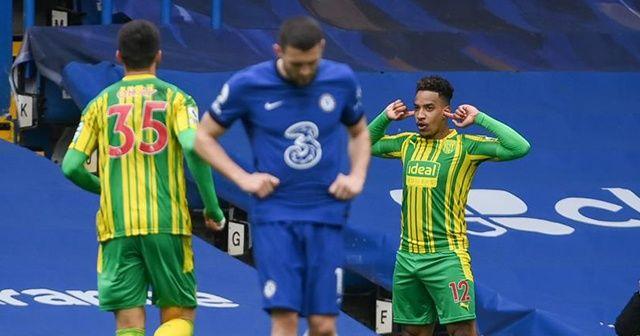 West Bromwich'den Chelsea'ye fark