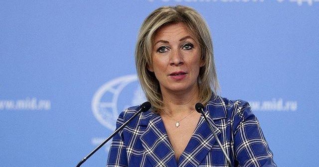 Zaharova: Rusya, Çekya'ya cevabını yakında açıklayacak