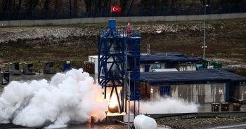 """""""Ay'a Sert İniş"""" görevinde kullanılması planlanan hibrit roket motorunun testi başarıyla sonuçlandı"""
