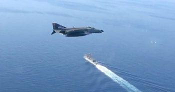 'Deniz Görev Grubuna Taarruz' eğitimlerinde 101 sorti uçuş gerçekleştirildi