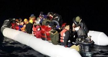 105 sığınmacı kurtarıldı